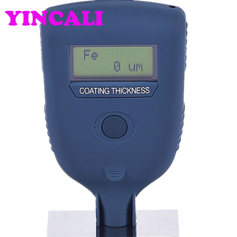 Coating Thickness Gauge Leeb252 Working Principle Magnetic Induction And Eddy Current Thickness Meter Measuring Range 0~ 1250 um|coating thickness gauge|thickness gauge|coating thickness - title=