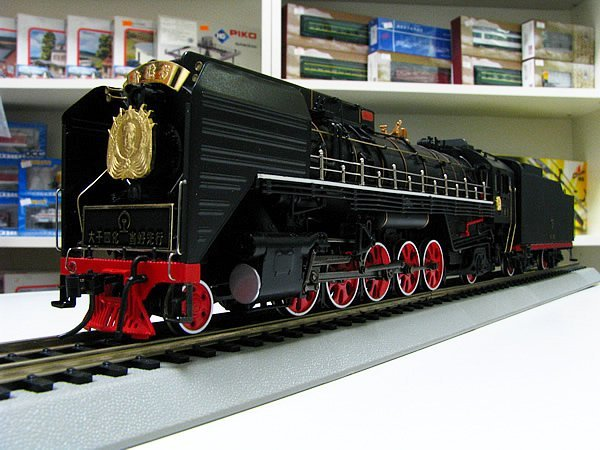 """Chinese train model QJ""""zhude"""" Steam locomotive-in Diecasts"""