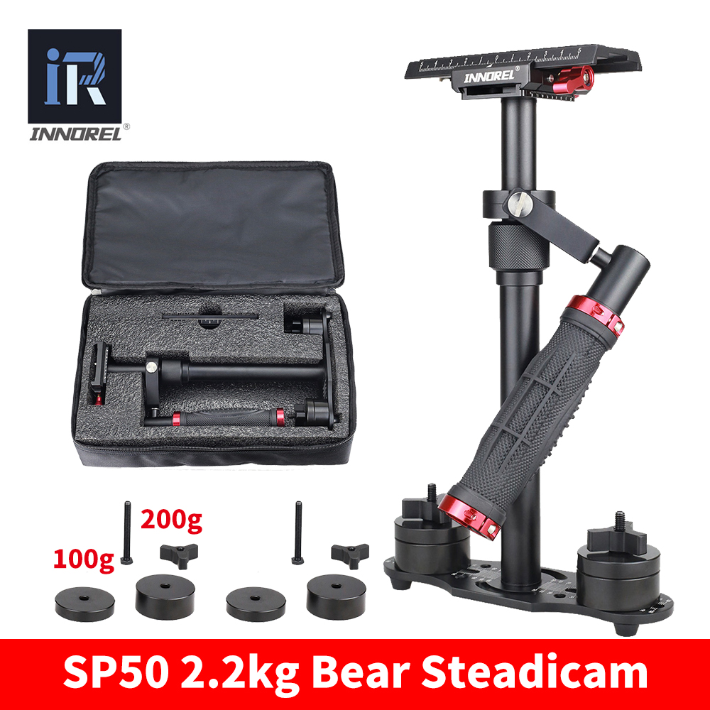 SP50 Mini Handheld Camera Stabilizer DSLR Video Steadicam Steadycam For Nikon Canon 5D2 5D3 Sony VS S40 S60