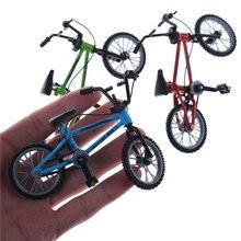 Милые мини-Пальчиковые игрушечные велосипеды BMX горный велосипед креативный игровой костюм Детский Взрослый 3 цвета BMX Фикси велосипед Скутер для пальца игрушка