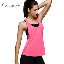 Codysale Women Vest Casual Hollw Tank Top Sleeveless Smock Vest For Fitness Aerobic Exercise Quick-Dry Vests Comfortable Workout