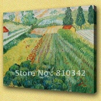 Van Gogh oil painting Impression art paintings for corridor wall decor oil paint U2VG17
