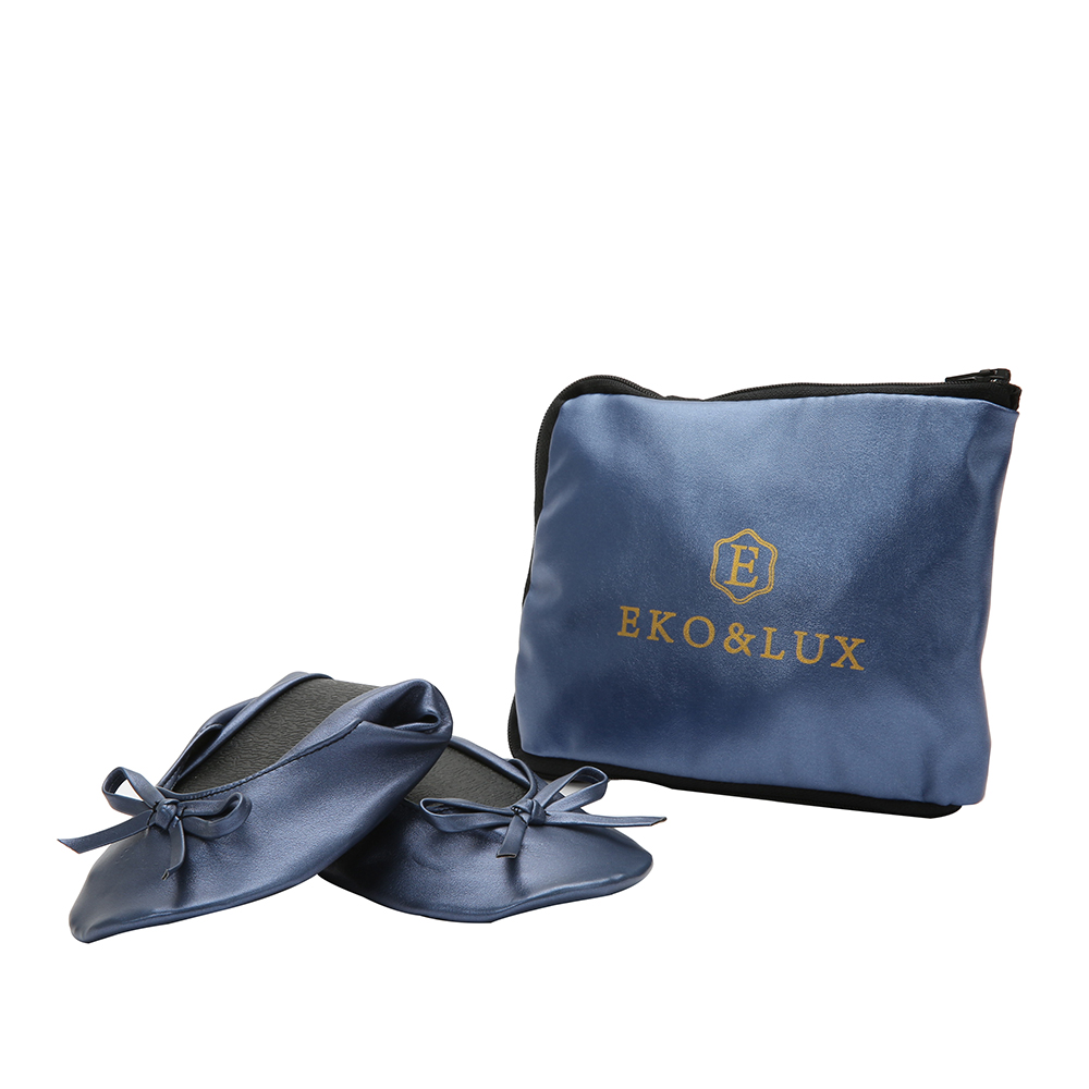 Navy Shoe Flats Portable Fold Up Ballerina Flat Shoes Roll Foldable Ballet After Party For Bridal Wedding Favor In Women S From On