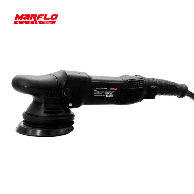 Car Polisher Automotive Polishing Machine Eccentricity 15/21MM Dual Action Polishing Waxing Tools 6 Speed Marflo