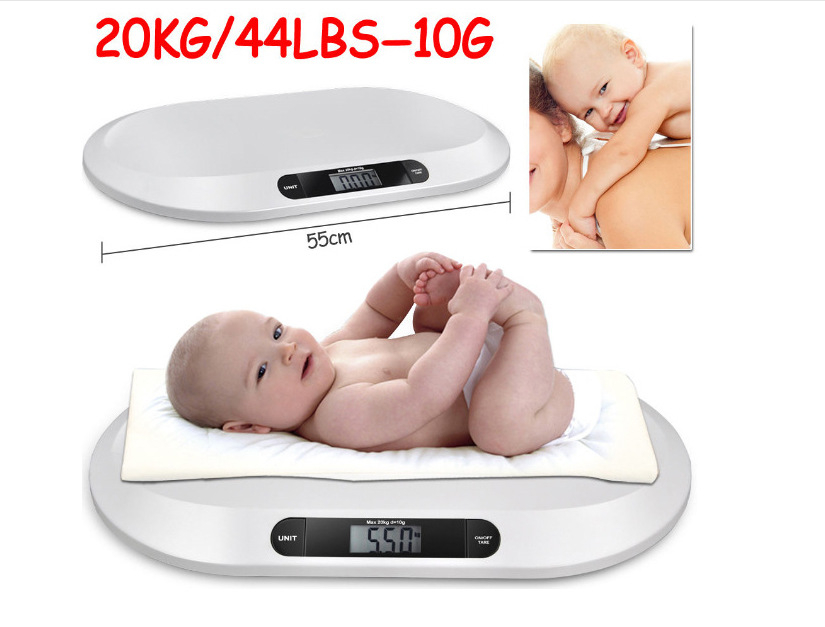 Newborn Baby Scales Multi-function digital display of intelligent boys girls electronic scales growth weighing health