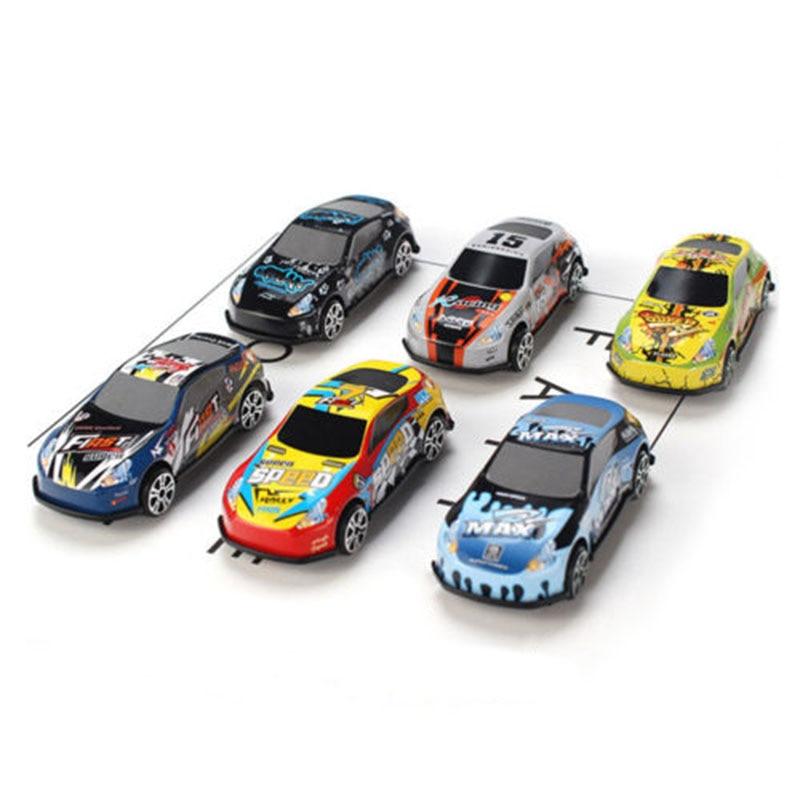 6pcs/set Mini Alloy Car Model Simulated Car Toy Kids toy Home Decor hot sale