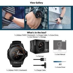 "Image 3 - Zeblaze reloj inteligente THOR 5 para hombre, sistema Dual, 2GB + 16GB, Pantalla AMOLED de 1,39 "", 454 x 454px, cámara de 8.0MP, GPS, WiFi, Bluetooth 4,0"