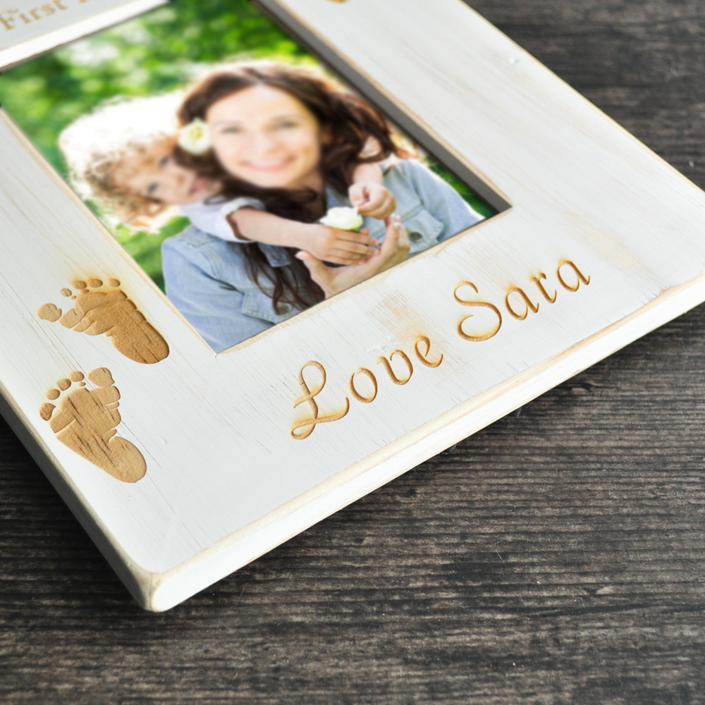 Personalized Picture Frame,First Mothers Day Gift, Custom Picture ...