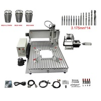 6040 CNC фрезерный станок резки 2200 Вт Частотный преобразователь для шпинделя usb деревообрабатывающее оборудование Китай cnc производитель