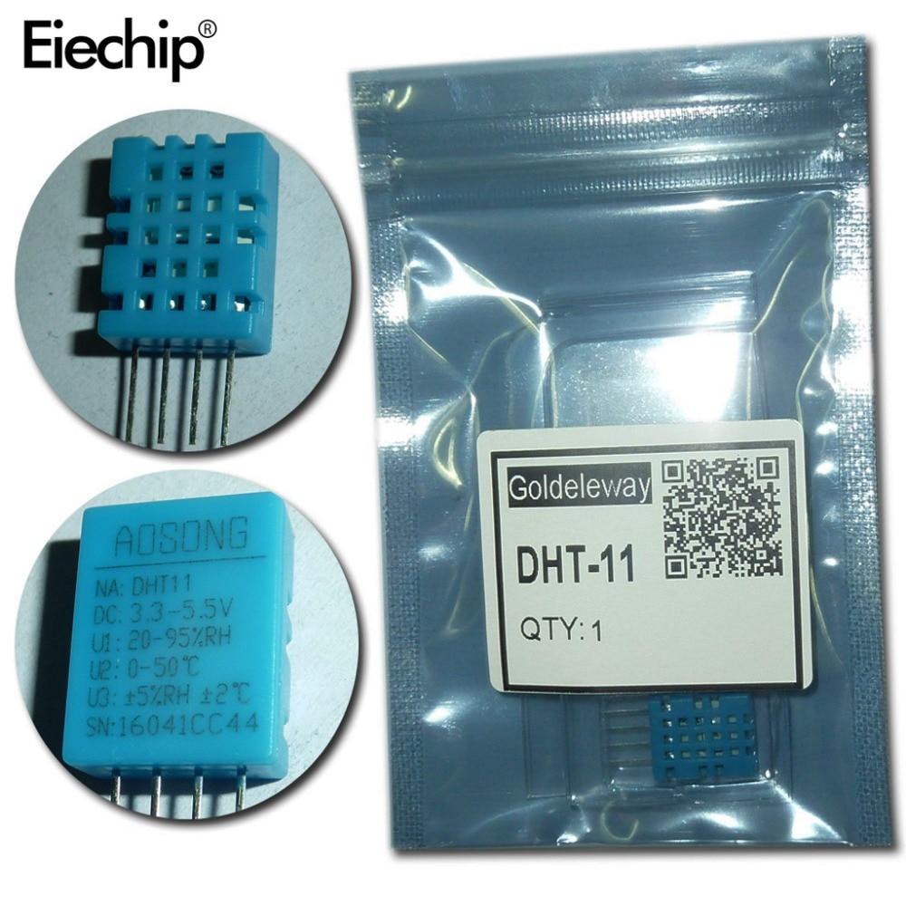 5pcs/lot DHT-11 DHT11 Digital Temperature and Humidity Sensor DHT-11 DIY Starter Kit