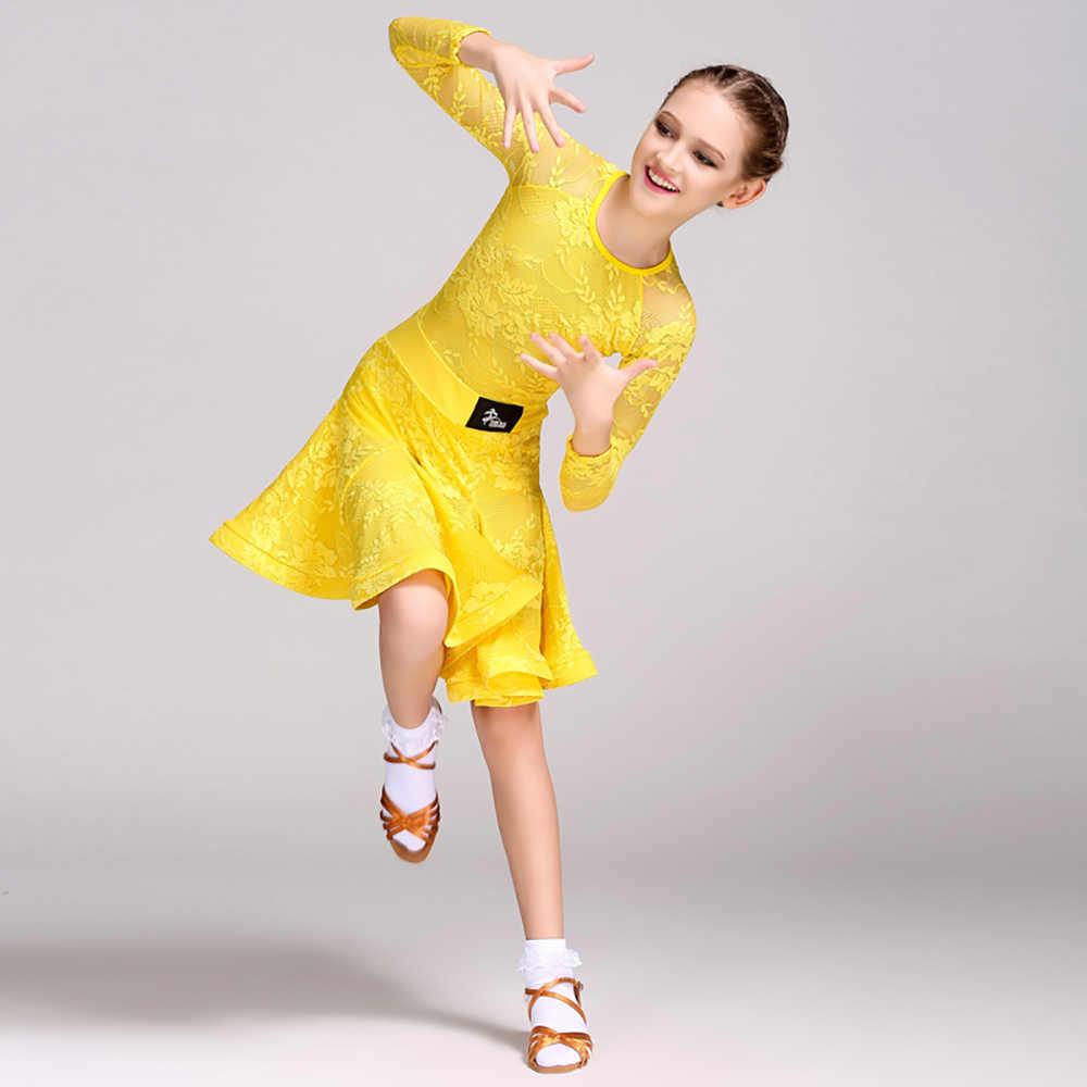 標準のドレス黄色、青、緑スカート夏職業子供競争美容社交衣服 Y10481