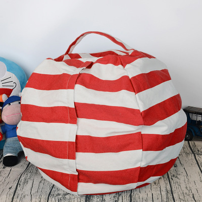 6 цветов чучело для хранения кресло для детей-Пуф Пуфик для хранения игрушек - Цвет: Red