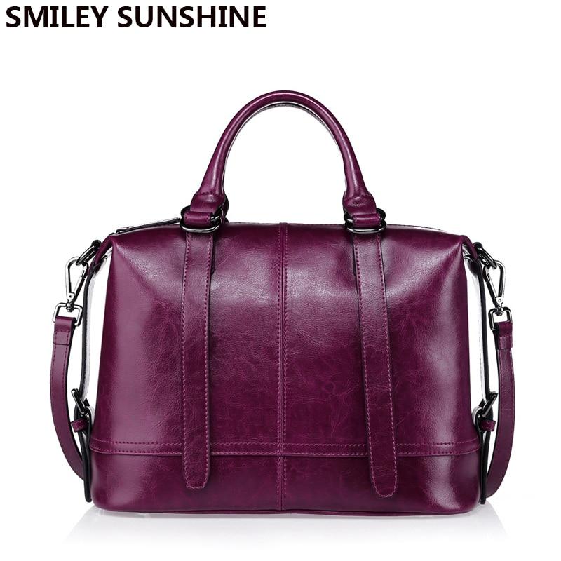 SMILEY SOLEIL de luxe sacs à main femmes sacs designer véritable cuir femme sac 2018 saffiano dames sac à main violet partie sac à main