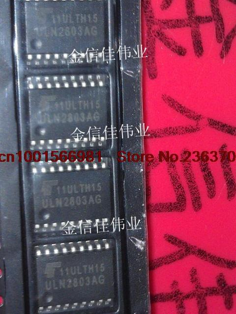 US $8 4 |New! 10pcs ULN2803AG ULN2803 SOP 18 Darlington Drive Free  shipping+Tracking no !!-in Integrated Circuits from Electronic Components &