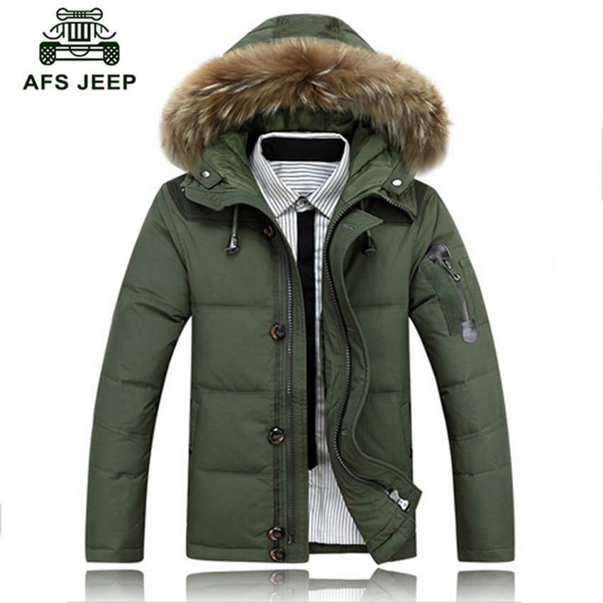 Taille M ~ 3XL Top Design hommes manteaux d'hiver blanc coton-veste rembourrée pour homme décontracté hommes marque veste DL 160