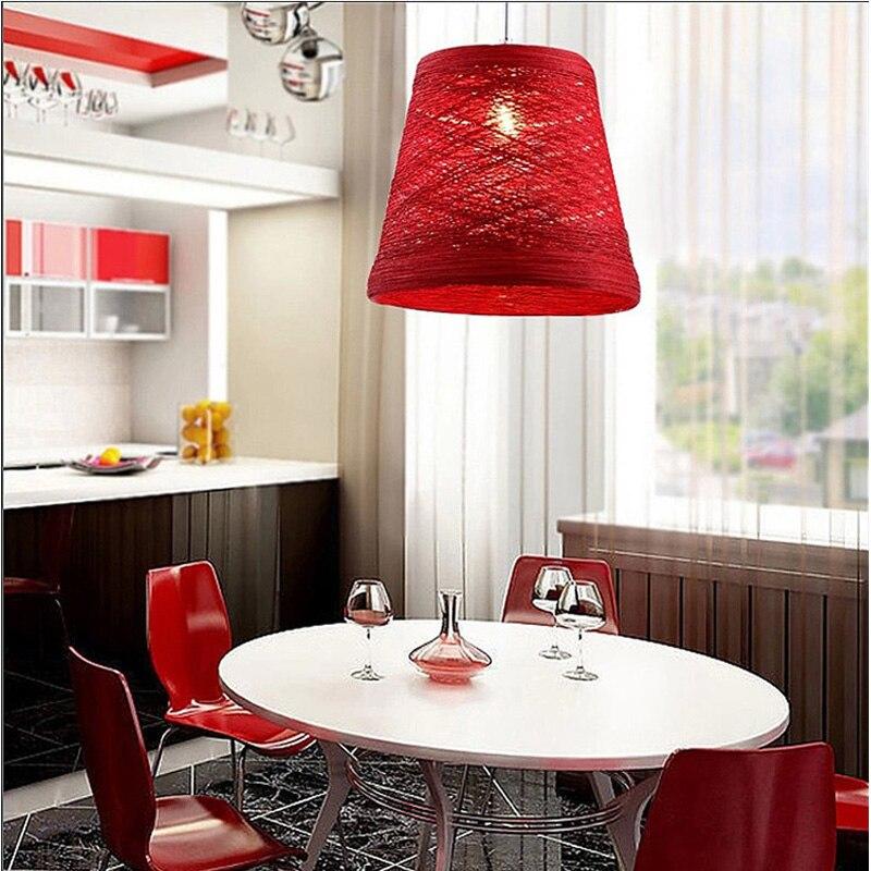 Latin America Pendant Light Multi Colour Lamps Samba Dining Room Red Green White Bar Coffeshop