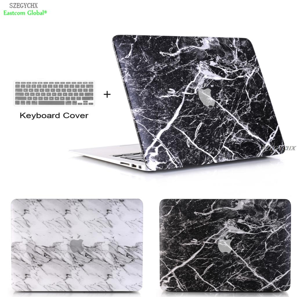 Marble Pattern For Apple MacBook Air Pro Retina 11 12 13 15 for mac book New Pro 13 15 inch with New Touch Bar+ Keyboard Cover