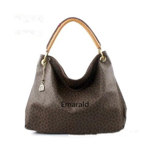все цены на Hot selling !!! 2018 Emarald new fashion women Genuine leather handbag artsy bags FREE SHIPPING онлайн