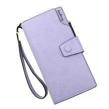 Women Long Wallet PU Leather Card Holder Organizer Billfold Ladies Purs