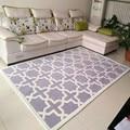 European style simple modern living room table bed blanket book room full of imitation wool carpet custom rectangle