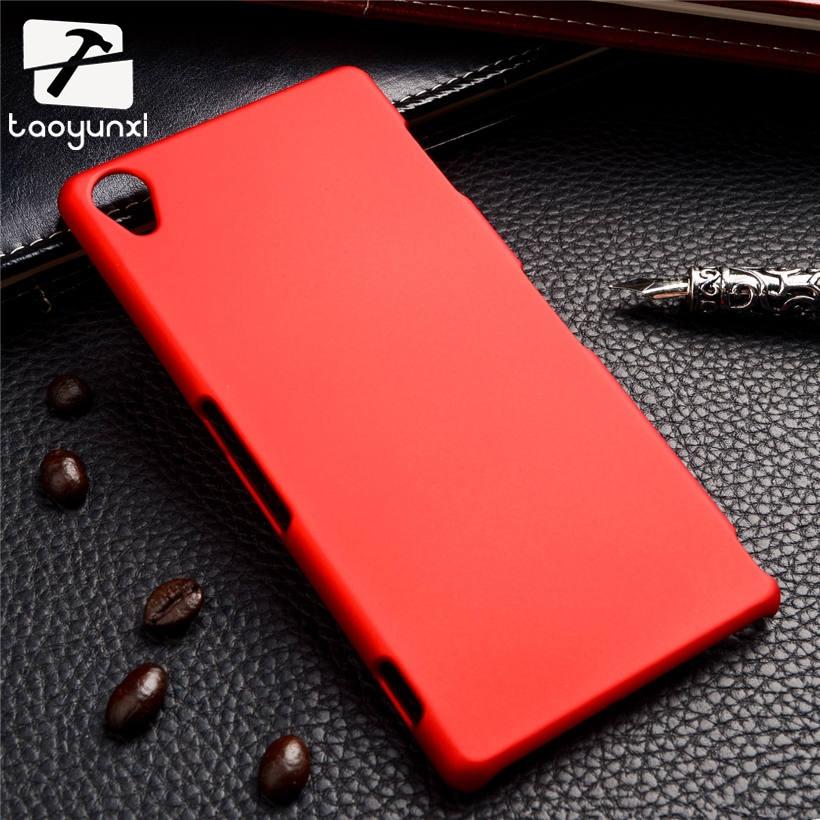 TAOYUNXI ультра тонкий матовый матовая задняя крышка Жесткий Пластик чехол для sony Xperia Z3 D6603 D6643 D6653 5,15 чехол для телефона XJQ