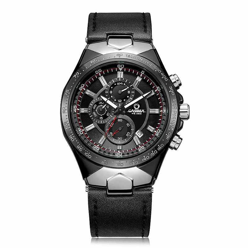 Fashion Sport Men Watch Top Brand Luxury Chronograph Casual Wrist watch Male Clock Business Quartz-watch Relogio Masculino oubaoer fashion top brand luxury men s watches men casual military business clock male clocks sport mechanical wrist watch men