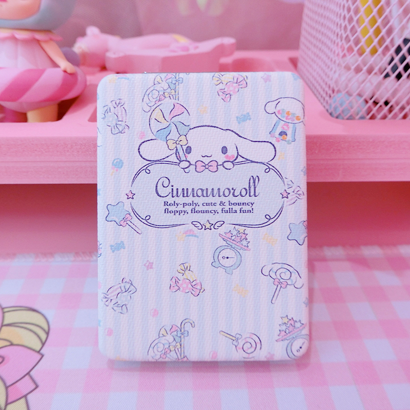 1pc Cut Japan Cartoon Pink My Melody Little Twin Stars Sailor Moon Cinnamoroll Mirror Dolls Accessories For Present  Girls