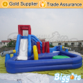 Inflatable Biggors Commercial Bouncy Castle Kids Games Outdoor Inflatable Slide Water Park