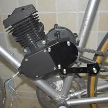 Промо-акция! Мода DIY пружинный натяжитель цепи Подходит для 49cc 50cc 66cc 80cc двигатель моторизованный велосипед серебро