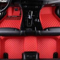 Yuzhe Авто Пол коврик для ног MINI Cooper R50 R52 R53 R56 R57 R58 F55 F56 F57 Countryman R60 F60 автомобильные Аксессуары Укладка