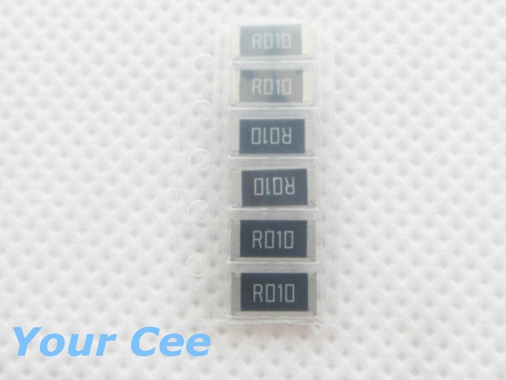 ̿̿̿(•̪ )50 шт. 2512 smd резистор 1 Вт 0.01R 1% чип резистор 0.01 Ом ... 149b3210183