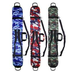 Portable Ski Snowboard Bag For Men Women Sports Bag Waterproof Neoprene Skiing Board Bag Camouflage Ski Snowboard Backpack