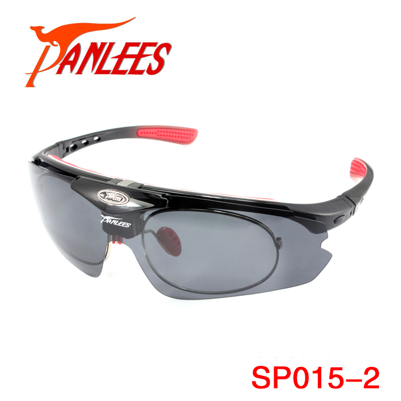 8d89263538 Panlees Flip up Prescription Sports Sunglasses Frame Polarized Sports  Glasses 5 Lenses with RX Optical Inserts Free Shipping-in Hiking Eyewears  from Sports ...