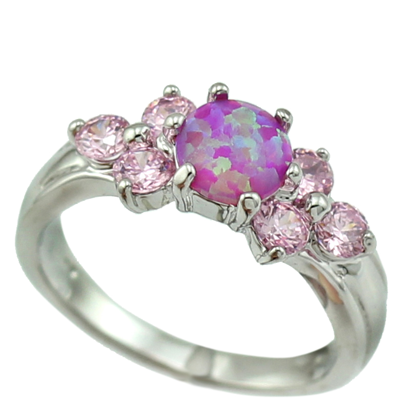 ring ct pink sterling round ad itm topaz blue stone silver rings and