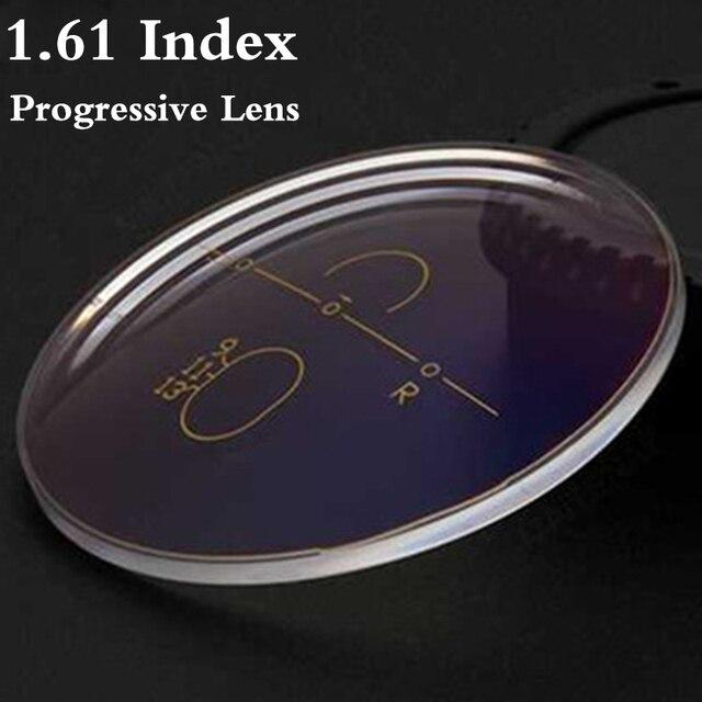 1.61 Index Aspheric Multi Focus Progressive Lens CR 39 Prescription Myopia Presbyopia Eye Glasses Lens Anti Radiation RS018