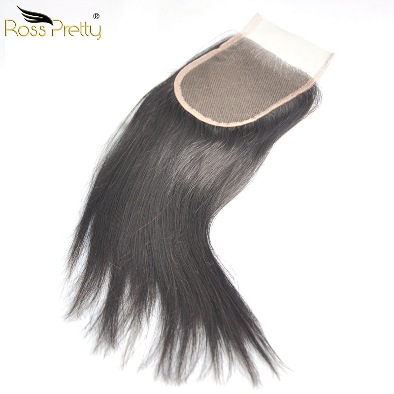 Double Draw Quality Fullest Brazilian Virgin Hair Lace closure Brazilian Straight Closure Full and Silky Middle part and 3Parts