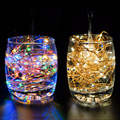 USB String Light Party Supplies Outdoor Lighting Copper Wire 100 LED 10M Home Decoration String Fairy Lights Lamps
