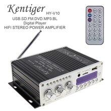 HY-V10 20 W x 2 2CH HI-FI Bluetooth Car Audio Amplificatore di Potenza Radio FM del Giocatore di Sostegno SD/USB/ DVD/MP3 di Ingresso