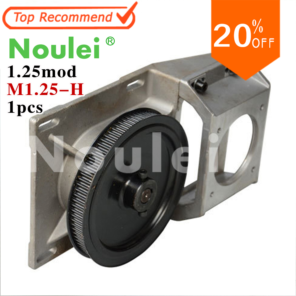 Noulei Gear Box Gear bracket motor bracket 1 Terminals Rotary Speed Geared for belt pulley 660v ui 10a ith 8 terminals rotary cam universal changeover combination switch