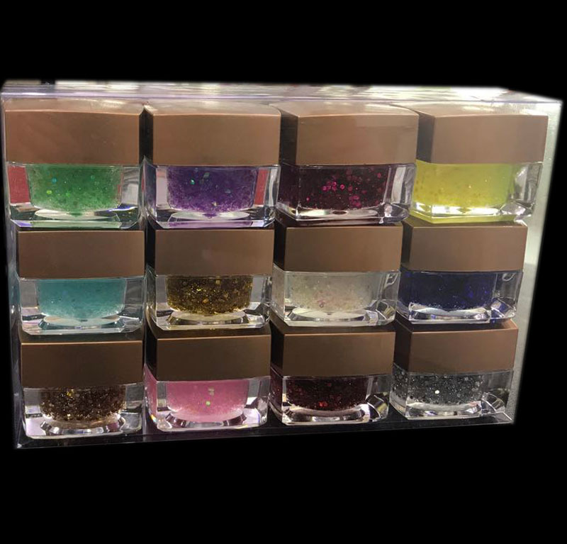 12colors pure  uv gel /glitter powder uv gel /Hexagon glitter nail uv gel ,nail art uv gel +free shipping 100% pure citrus bioflavonoids powder synephrine 6% 98% hplc 1kg bag free shipping