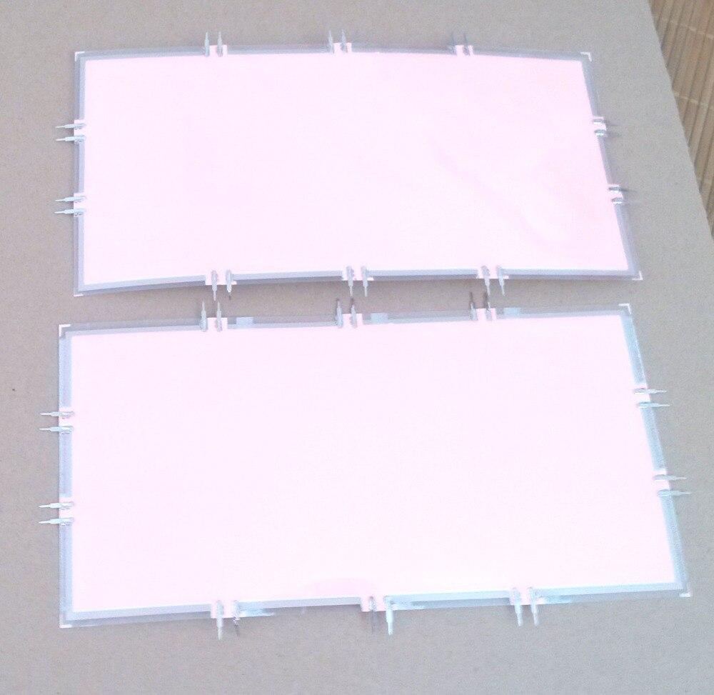 20x10 cm découpable el rétro-éclairage el feuille el rétro-éclairage panneau avec inverseur et connecteur