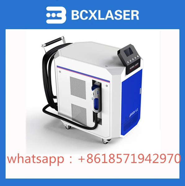 BCXlaser High quality 50w/100w/200w laser cleaning machine for rust removal machine with cheap price