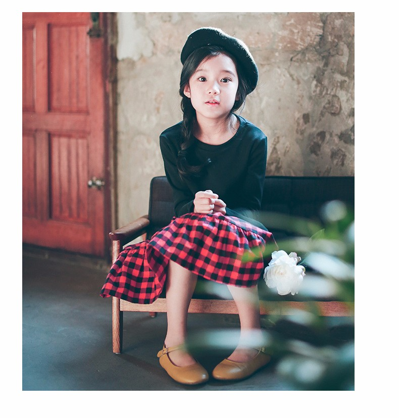 England style long skirts for baby teenage girls red plaid pleated skirt girl 2017 new spring autumn winter children clothing 5 6 7 8 9 10 11 12 13 14 15 16 years old little big teenage girls pleated skirts for kids (17)