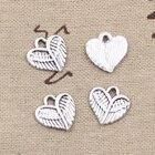 20pcs Charms Heart W...