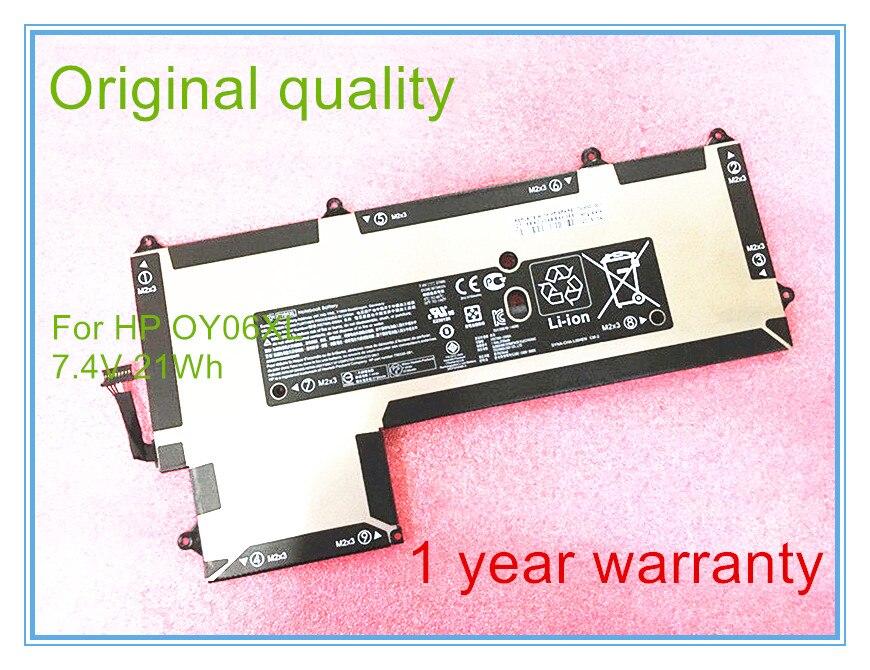 Original OY06XL Battery for 750335-2B1 750550-001 HSTNN-DB6A OY06021XL Laptop original new laptop battery for dm3 dm3 1000 dm3 1100 hstnn db0l hstnn ub0l 577093 001 hstnn e02c hstnn e03c