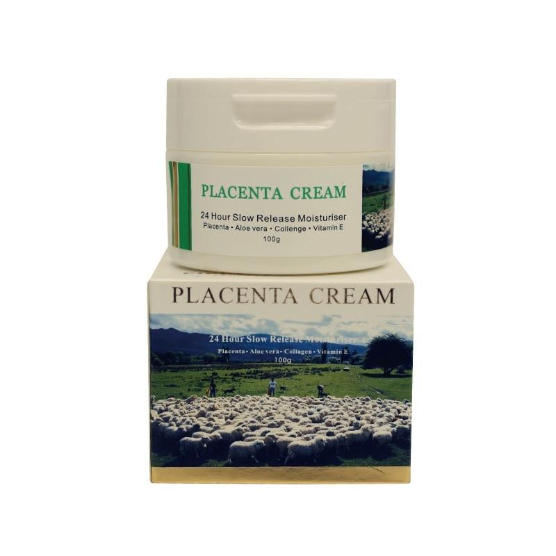 CiciCare Original Placenta Extract Moisturizer Cream Non greasy Face Day Cream for Hand Body Improve skin elasticity Smooth skin