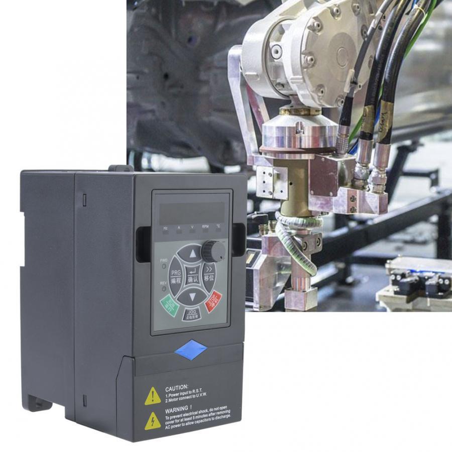 VFD Inverter 380V 0.75KW 3 Phase Input 3 Phase Output VFD Variable Frequency Drive Converter Inverter Variable Frequency-in Inverters & Converters from Home Improvement