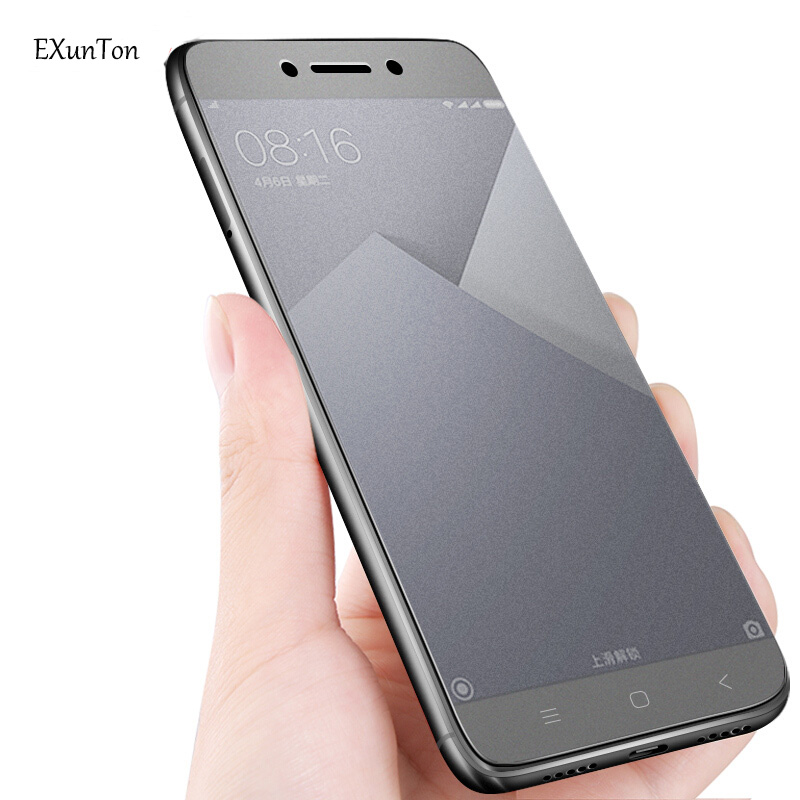 2.5D Matte Tempered Glass For <font><b>Xiaomi</b></font> <font><b>Redmi</b></font> Note 2 <font><b>3</b></font> 3Pro 5 5A 5Pro 4 <font><b>4X</b></font> MTK SNA Edition Anti Fingerprint Screen Protector Film image
