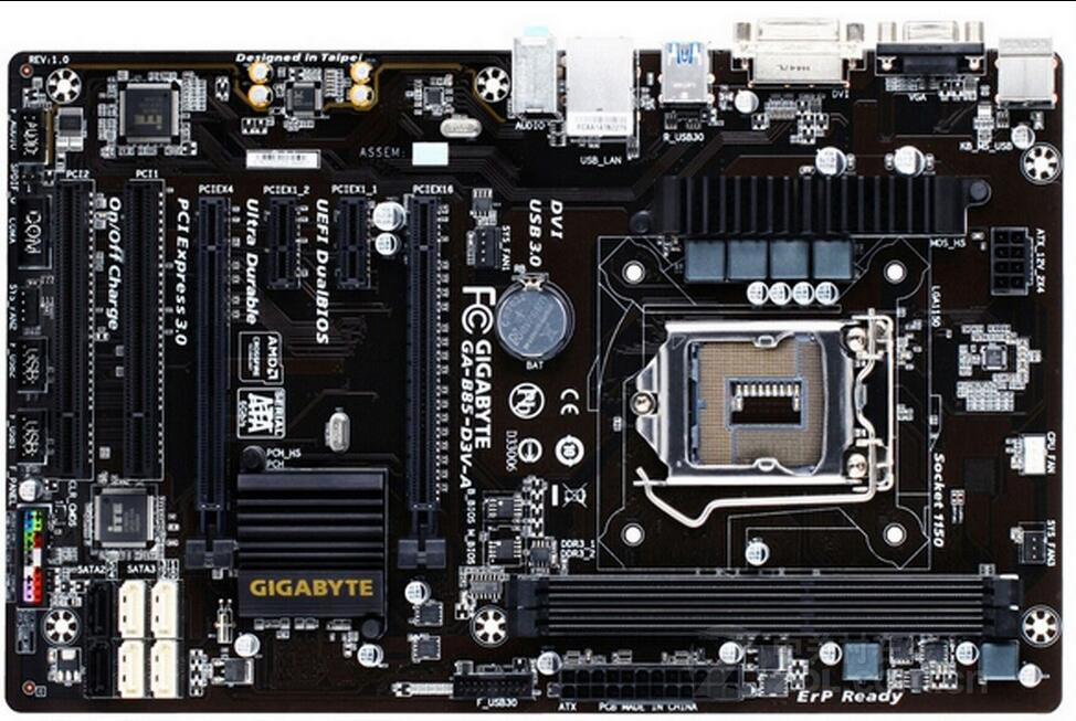 motherboard Gigabyte GA-B85-D3V-A 1150 DDR3  B85-D3V-A desktop motherboard  mainboardmotherboard Gigabyte GA-B85-D3V-A 1150 DDR3  B85-D3V-A desktop motherboard  mainboard