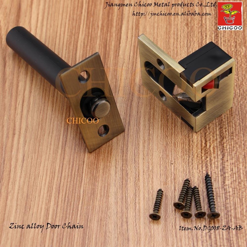 DOOR GUARDZinc alloy Antique Brass Door Security Chaindoor lock chaindoor & Compare Prices on Door Lock Chain- Online Shopping/Buy Low Price ... Pezcame.Com